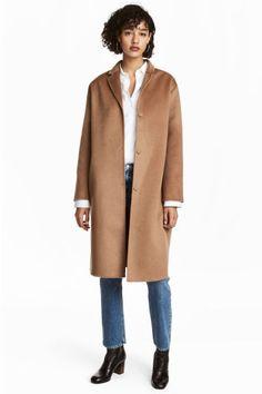 Cappotto misto cashmere - Cammello - DONNA   H&M IT
