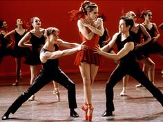 At least 30% of the reason I want to be a ballerina on toe is so I can wear this outfit and the red toe shoes from Center Stage.