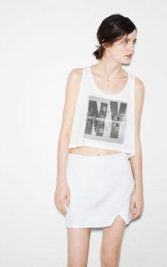TOP NEW YORK - T-shirts - TRF - ZARA Portugal