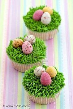 easter cupcaks