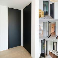zwarte binnendeuren populaire voorbeelden