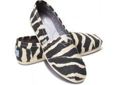 2014 New Arrival Toms Women Suit Shoes Black White