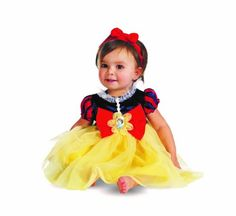 Disguise My First Disney Snow White Costume, Red/Blue/Yellow, 6-12 Months Disguise