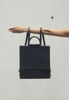 BUILDING BLOCK. Really cool geometric leather bags and fantastic product shots.
