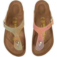 5467c218000f Birkenstock - Gizeh (Summer Breeze Nubuck) Sandals. Massive Fashion Blog