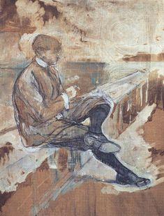 Retrato de Louis Bouglé. 1898.  Óleo sobre tabla. 63 x 51 cm.  Museo del Louvre. París. Francia.