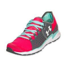 Women's Under Armour Micro G Mantis Running Shoes ($35) ❤ liked on Polyvore featuring shoes, athletic shoes, light weight shoes, breathable shoes, under armour footwear, running shoes and athletic running shoes