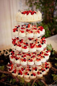 Un gâteau de meringues