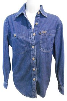 Lauren By Ralph Lauren Denim Blue Classic Denim Shirt Cotton Petite 4 6 Small S Button Down Shirt $24 with FREE SHIPPING..   Great Classics for UNDER $25 and Always with FREE SHIPPING.    Laurie B's Closet: https://www.tradesy.com/member/laurie-b/140433/