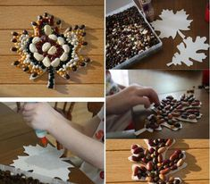 basteln herbst kindern hülsenfrüchte mosaik idee Assisted Living Activities, Activities For Kids, Crafts For Kids, Flowers Today, Creative Kids, Creative Things, Months In A Year, Kids And Parenting