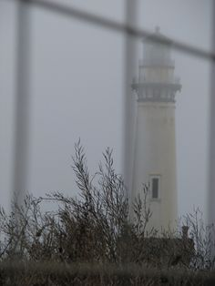 *California Lighthouse in the Fog