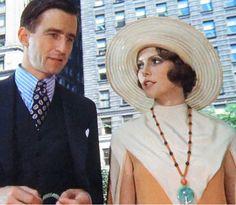 Nick Carraway and Jordan Baker - The Great Gatsby (1974)