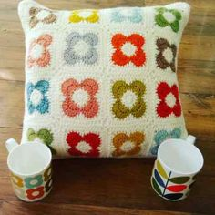 Orla-bout Orla: Part 2 – Crochet Cate Creations Bag Crochet, Crochet Home, Love Crochet, Crochet Granny, Crochet Crafts, Crochet Stitches, Crochet Projects, Granny Granny, Crochet Cushion Pattern