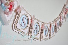 ***Please check front page welcome message for current turn around times!** S… ***Please check front page welcome message for current turn around times!** SHOP DAYS & HOURS—Tues, Wed, Thurs, PST MESSAGES ARE Birthday Banner Design, Happy Birthday Banners, Birthday Diy, Birthday Chair, Shower Banners, Name Banners, Party Banners, Pennant Banners, Cricut Banner