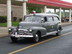 1947 Chevrolet Ambulance.