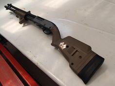 Remington 870 with Magpul Stock and ERGO GRIP 3-Rail Shotgun Forend
