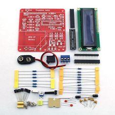 Diy Multifunction Transistor Tester Caja Para Lcr Esr Transistor Pwm Senal Gen: Bid: 17,77€ (£15.52) Buynow Price 17,77€ (£15.52) Remaining…
