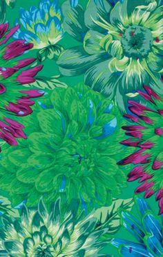 Cactus Dahlias green. Philip Jacobs