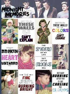 One Direction whoever made this did phenomeniall!!! No joke!!