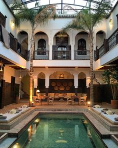 The Best Riads in Marrakech for Those on a Budget — Along Dusty Roads Our favourite best budget riads in Marrackech – without sacrificing luxury, beauty or style! If you want to stay in a affordable or cheap riad in Marrakech, here are the best options. Best Riads In Marrakech, Marrakech Morocco, Marrakech Hotels, Marrakech Travel, Casa Hotel, Moroccan Design, Courtyard House, Villa Design, Great Hotel