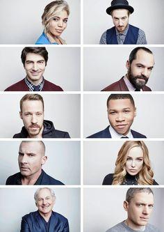 The #LegendsofTomorrow cast photographed by Maarten De Boer #TCA16