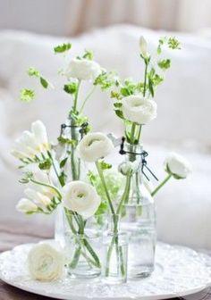 Pinterest & 9 Best White Flowers in bud Vases images | Bud vases White ...