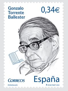 Emisiones de sellos - Correos Postage Stamps, Lettering, Writing, World, Countries, Europe, Portraits, Custom Stamps, Writers