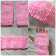 Pink Winter Woolies Accessories Set
