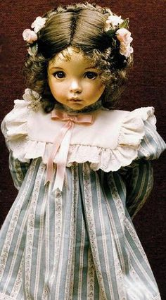 Here's the original Emily doll by Dianna Effner, beautiful doll.... She creates absolute masterpieces.  I have several of hers.