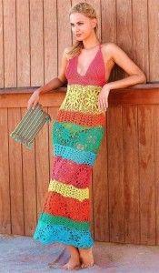 Vestidos a crochet para playa 3