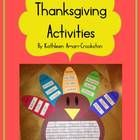 Includes:-Templates to create a turkey writing craftivity (pg. 1-18)-