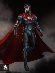 Superman from Injustice 2 Batman Vs Superman, Injustice 2 Superman, Mundo Superman, Dc Injustice, Superman Suit, Superman Man Of Steel, Black Superman, Superman News, Injustice 2 Characters