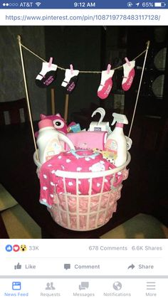 diy baby shower gift basket ideas for boys shower pinterest
