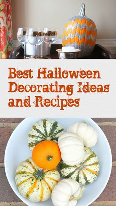 Best Halloween Decorating Ideas and Recipes 2012