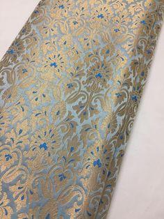 Banarasi brocade fabric - Women's style: Patterns of sustainability Brocade Fabric, Lace Fabric, Black Pakistani Dress, Wedding Wear, Wedding Suits, Wedding Linens, Fabric Names, Indian Fabric, Furniture Upholstery