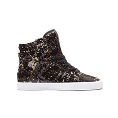 50e50fcb7a7 Supra Womens Skytop BlackGoldSequence Sneaker 5 B    Visit the image link  more details.