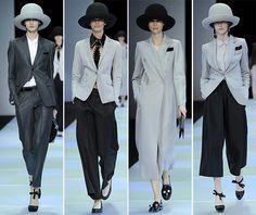 Emporio Armani Fall/Winter 2014-2015 Collection - Milan Fashion Week #MilanFashionWeek #MFW #fashionweek