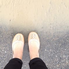 I wear these all the time!  #toryburch