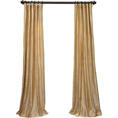 Fortuna Gold Curtains gorgeous gold fabric with a rich red