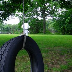 Hanging around in New Jersey doing a few tire swings. You dig?