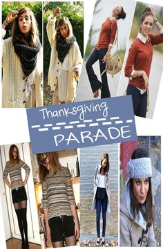"""THANKSGIVING DAY 2011 HOLIDAY OUTFIT INSPIRATION BOARDS- 5 NOTEWORTHY GENRES OF ENSEMBLES """"Parade"""""""