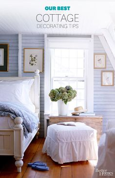 Pretty and practical, today's cottage style is all about soft colors, feminine florals, vintage character, and an eclectic mix of home accessories ranging from brand-new finds to flea market and vintage treasures.