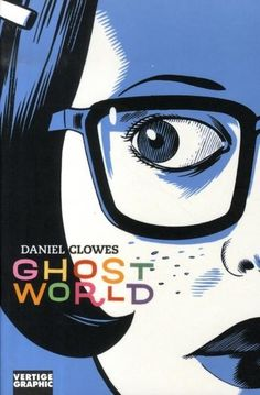 Ghost World, Daniel Clowes... That Roy Lichtenstein guy is alright, but sometimes the real comic book artists make the best pop art... the Ghost World comic was made into a very good live action movie, which got an Oscar Nomination for best screenplay.