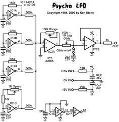 Psycho LFO schematic