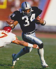 Bo Jackson: Another all time great from the Oakland Raiders