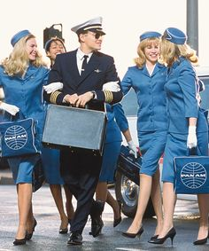 Leonardo DiCaprio, Karrie MacLaine, and Hilary Rose Zalman in Catch Me If You Can Frank Abagnale, Leo And Kate, Play Your Cards Right, Young Leonardo Dicaprio, Perfect Together, Steven Spielberg, Travel Shoes, Iconic Movies, Tom Hanks