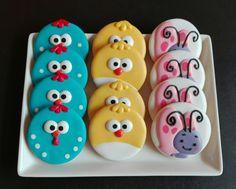 Galletas de La Gallina Pintadita, hechas por decoracookies