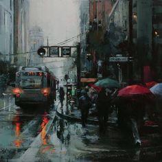 Lindsey Kustusch Art #artpeople www.artpeoplegallery.com