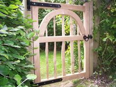 Image result for bespoke garden gates wooden