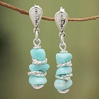 Goddess of the Lake: According to National Geographic, Amazonite was considered a gift from Copacati, the Inca goddess of the lake, and is mined near Huancayo in Peru's central highlands.